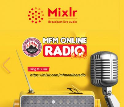 MFM SUNDAY SERVICE LIVE BROADCAST ON RADIO.